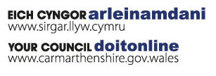 Your Council do it online www.carmarthenshire.gov.wales